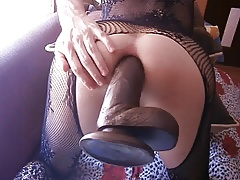 dildo in my ass and gape