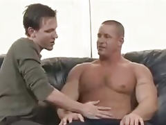 Big Muscle Man Fucks Boy