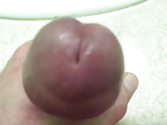 Huge cock head close up sexy who wants some?