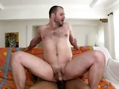 Queer interracial sizeable black cock butt get down and dirty