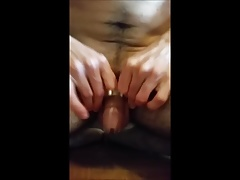 Cuming in chastity