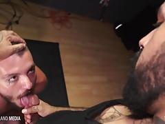Daddy Ross destroys street boys beefy bubble butt