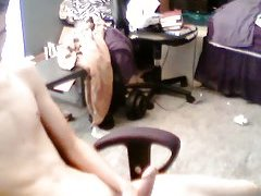 Slim boy wanking on cam