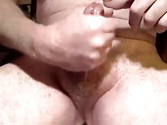 Daddy jacking off on cam