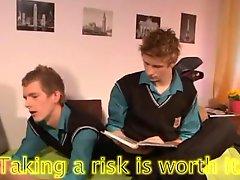 European schoolboys