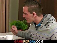 He gets to ream a hetero guy