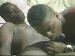 Black Men Fucking and Cum