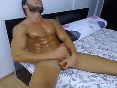 Hard body beats a hard cock