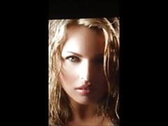 (SoP) Woman of a perfect body -  Cum Tribute