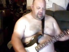 Guitar Bear Man