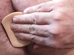 Big dildo in ass