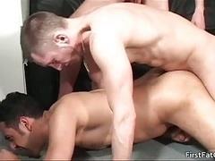 Antonio gets his utterly first hard man-loving penis 5