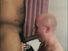 Man gets a cock up his asshole