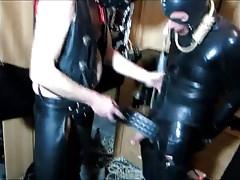 My Rubber Slave Part 2