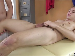 Hot Massage Table Gay Sex Action