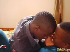 Real african amateur dude cocksucking partner