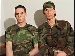 Military dudes ass fucking