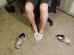 Sneakers Socks Feet Legs