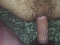 breeding hairy ass daddy
