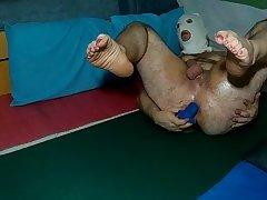 sexy marika with sexy feet playing anal