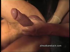 Mature dude ass fisted