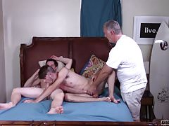 Young Stud Gets His Hole Drilled By Twink