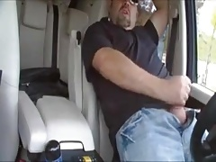 A car jerk off
