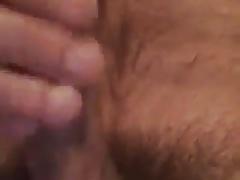 Hairy daddy jerk off