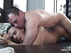 Daddy Horatio Barebacks Young Javi