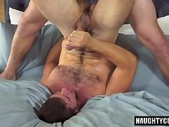 Big dick gay hardcore and cumshot