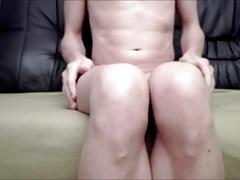 gape that ass on sofa