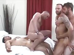 Derek Parker, Seth NLN, Marcos Mateo y Miguel Temon