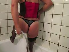 Slutty in shower 3