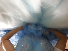 ballgown dress crossdress masterbation