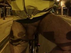 Naked on the street bike 02