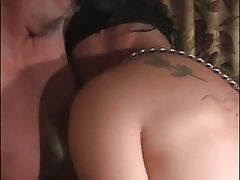 Big cock in the gay guy's mouth