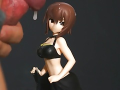 figure bukkake(SOF) maho nishizumi(swimsuit)