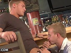 Broke Guy Pays His Bill With Gay Sex