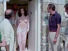 Edwige Fenech & Lia Tanzi naked from The Virgo The Taurus