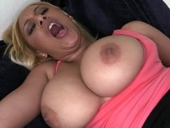 Giving the big ass Latina the kind of fucking she needs