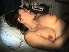 Yvonne naked in bed