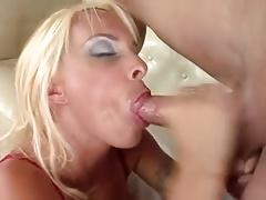 MILF Holly Halston Facial Cum Load