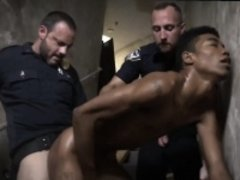 Black gay police officers stripping solo movies Suspect on t