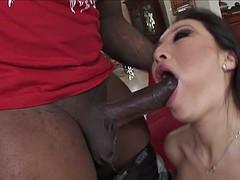 RealAsianExposed - Hot Babe Asa Akira goes to work on a big