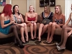 Lesbian Foot Worship Party