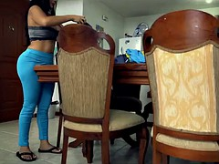 Huge ass and tits on this maid