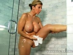Big Tit Sara Jay Shaving In The Shower