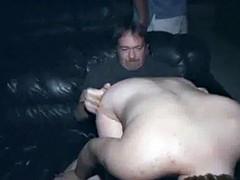 Big Tit Anal Gangbang In Porno Theater Blonde