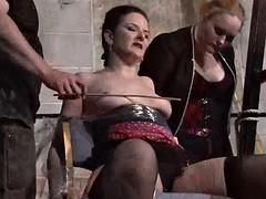 Caroline Pierce submissive Spanking