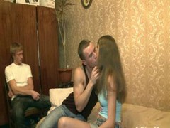 Virgin fucked by dirty man